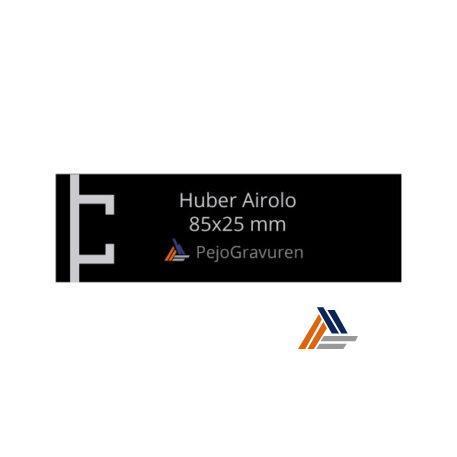 Huber-Airolo schwarz