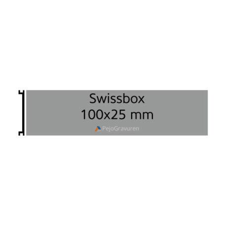 Briefkastenschild Swissbox