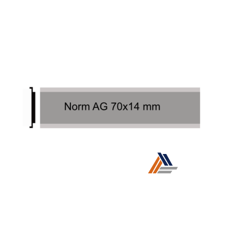 Norm AG 70x14 mm